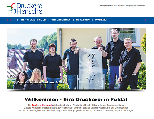Film Foto Website erstellen seo fulda